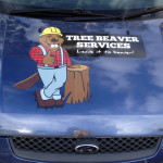 Car Lettering and Logo Graphics - Tree Beaver