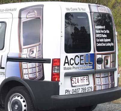 CAR SIGNAGE – Accell