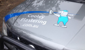 vehicle Bonnet Logo signage